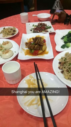 The food was incredible
