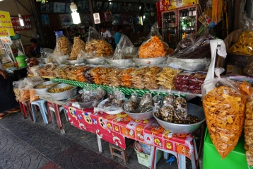 Selling dried fruit!