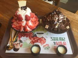 sulbing! Shaved ice Korean dessert